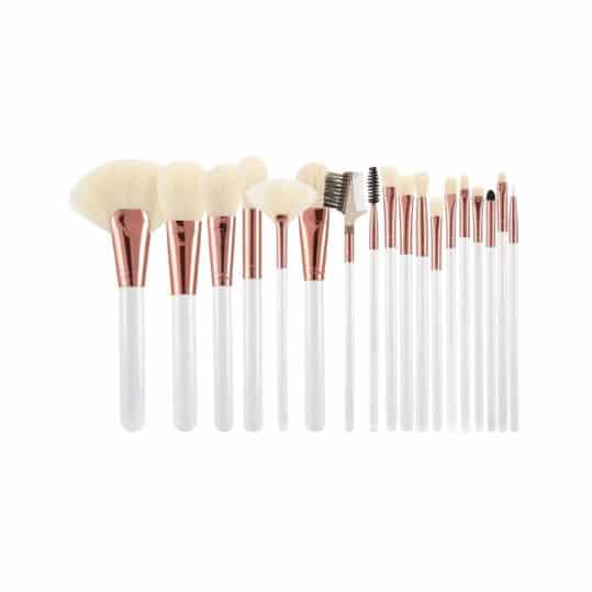 Tools For Beauty White 18pcs Brush Set