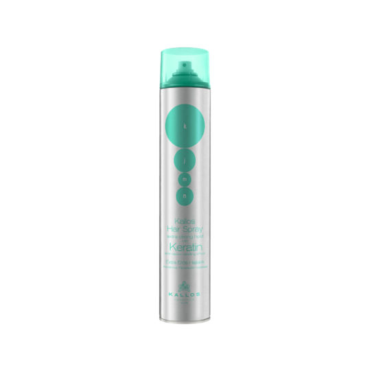 Kallos Keratin Extra Strong Hairspray 750ml