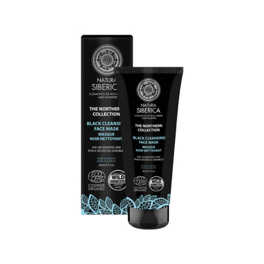 Natura Siberica Northern Collection Black Cleansing Mask 80ml