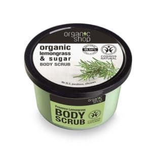 Organic Shop Provancal Lemongrass & Sugar Body Scrub 250ml