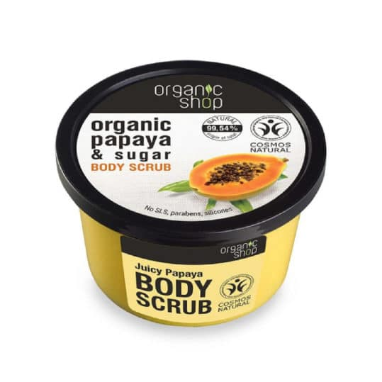 Organic Shop Body Scrub Juicy Papaya 250ml