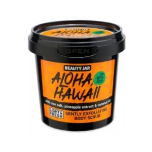 Beauty Jar Aloha Hawaii Αναζωογονητικό Scrub Προσώπου & Σώματος 200gr
