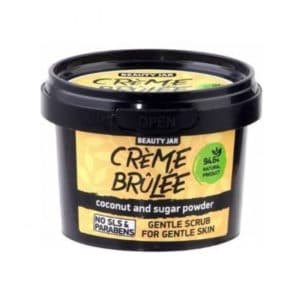 Beauty Jar Creme Brulee Απαλό Scrub Για Ευαίσθητες Επιδερμίδες 120gr