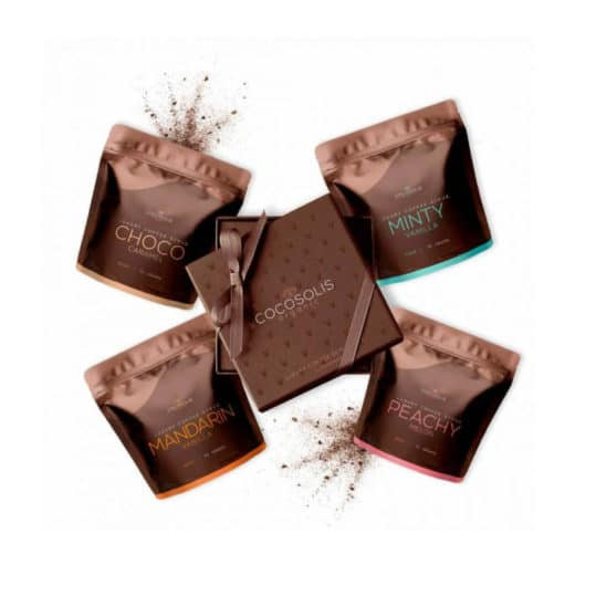Cocosolis Luxury Coffee Scrub Box 280gr