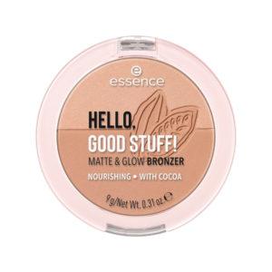 Essence Hello Good Stuff Matte & Glow Bronzer 10