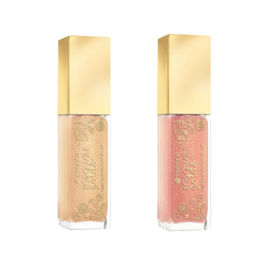 Essence The Glowin' Golds Caring Shimmer Lip Oil