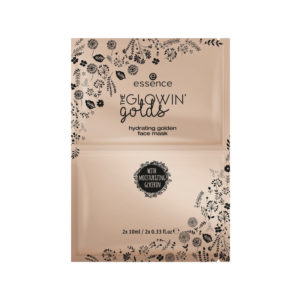 Essence The Glowin' Golds Hydrating Golden Face Mask