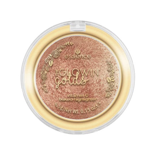 Essence The Glowin' Golds Vitamin C Baked Highlighter 01