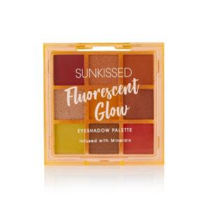 Sunkissed Fluorescent Glow Neon Eyeshadow Palette